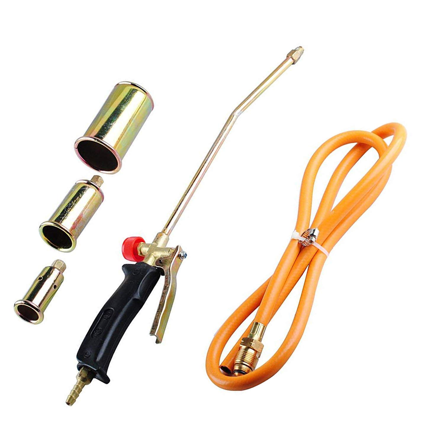 New Portable Propane Weed Torch Burner Fire Starter Ice Melter Melting Roofing