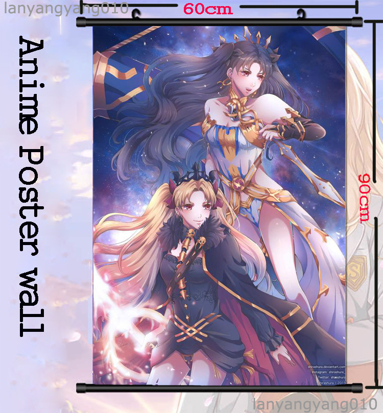 Japanese Anime Fate Grand Order Wall Scroll Poster Home Decor Free Shipping 1 Ebay
