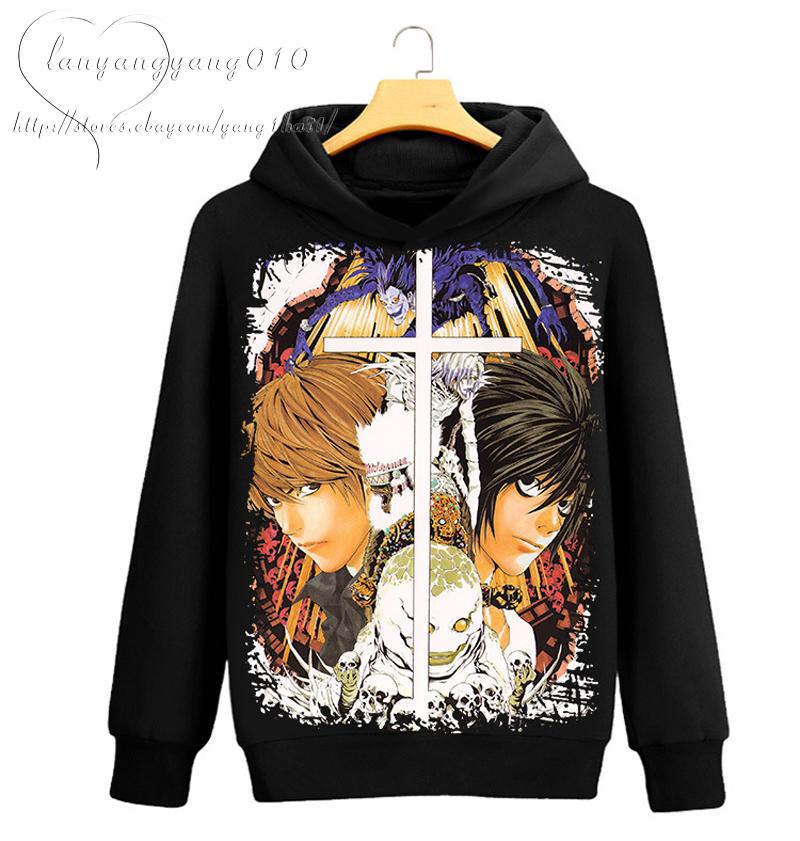 Womens Dead Note Anime Hoodie Sweatshirt