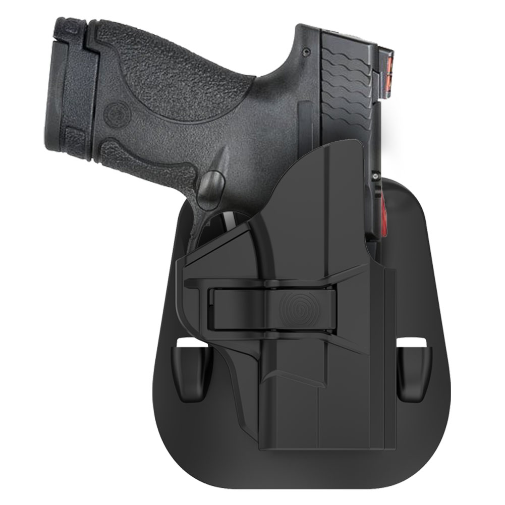 OWB Kydex, Index Point Holsters: M/&P Shield 9mm//40 w// Crimson Trace