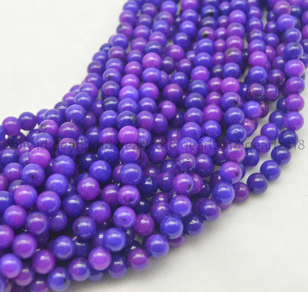 6-12mm Blue Sapphire Gemstone Beautiful Round Loose Beads 15/'/'