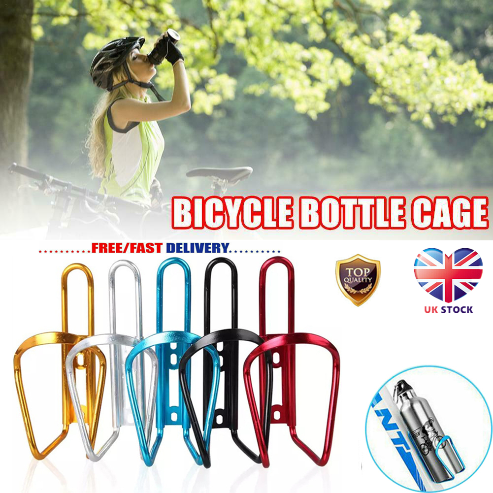 Aluminum Alloy Cycling Cages Bike Bicycle Holder Drink Water Bottle Holder UK
