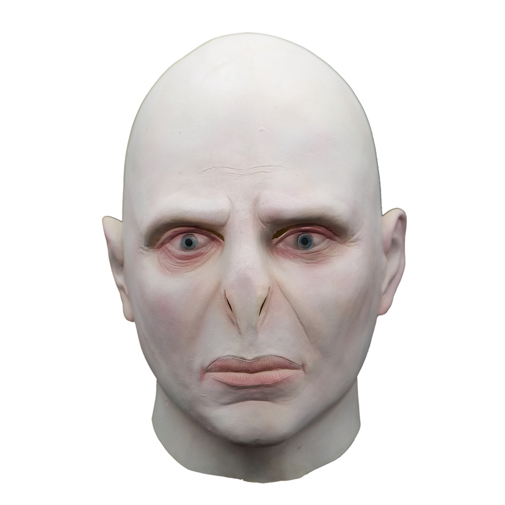 Harry Potter Lord Voldemort Cosplay Latex Mask Costume