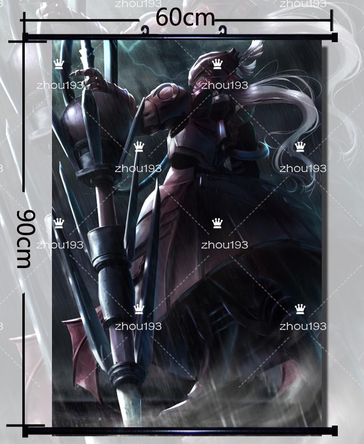 Overlord Shalltear Bloodfallen Wall Scroll Poster Home Decor Gift 60*90CM#713