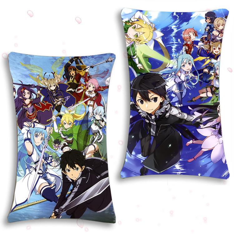 Hugging Cover Dakimakura Anime Sword Art Online Gift Pillow Case 35×55cm #T63