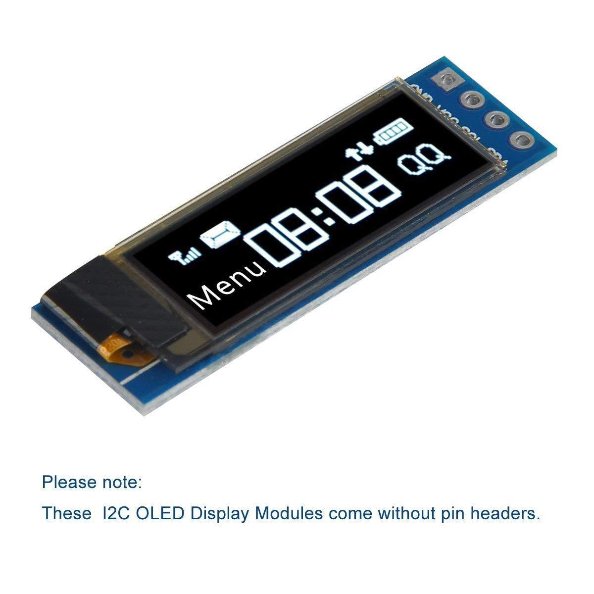 Details about 2Pcs 128X32 OLED LCD Display Module Arduino 0 91