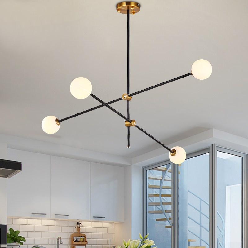 Details About 2 3 4 Lights Modern Sputnik Chandelier Bubble Pendant Light Ceiling Fixtures