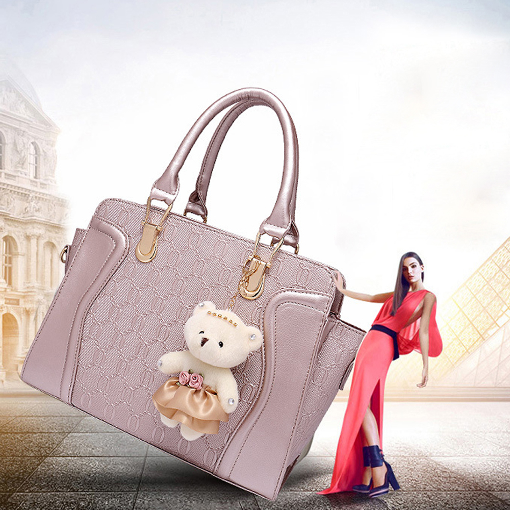 Synthetic Leather Handbags Shoulder
