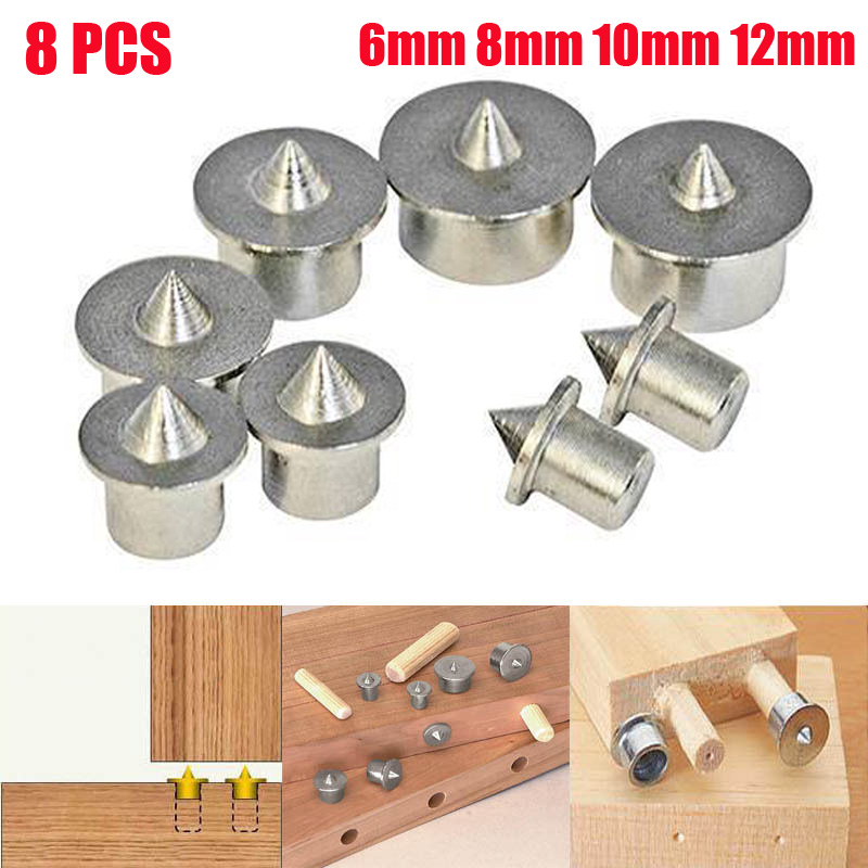12mm Aligning Tools Dowel Tenon Centre Point Set 8 Piece 6
