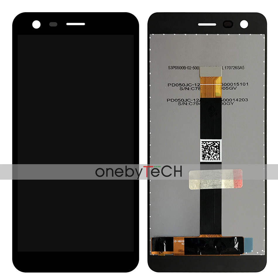 Details about Nokia 2 Nokia TA-1029 TA-1035 Black LCD Display Touch Screen  Digitizer Assembly