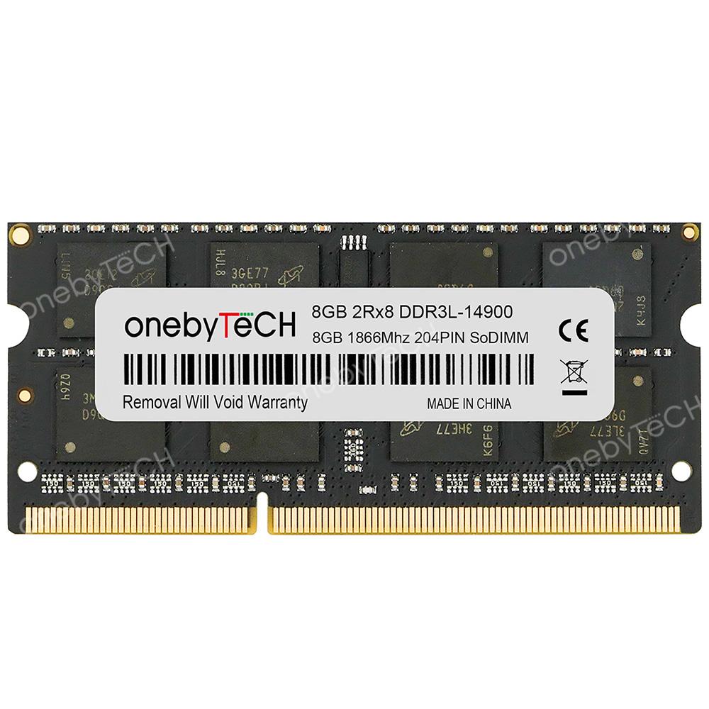 For Hynix 8GB 2RX8 PC3L-14900S DDR3L 1.35V 1866 MHz 204Pin SO-DIMM Laptop Memory