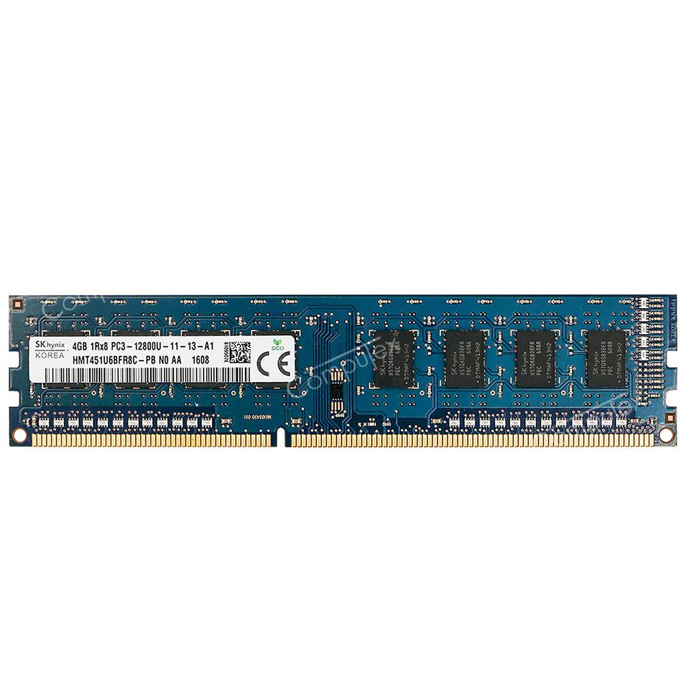 4GB DDR3 MEMORY RAM PC3-6400 NON-ECC DIMM 240-PIN 1.5V