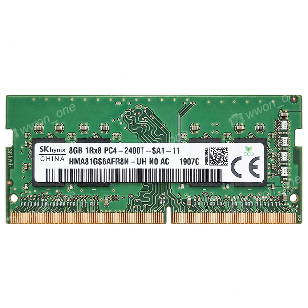 Crucial 8GB PC4-2400T-S DDR4 2400MHz 260Pin Unbuffered SODIMM Laptop Memory CL17