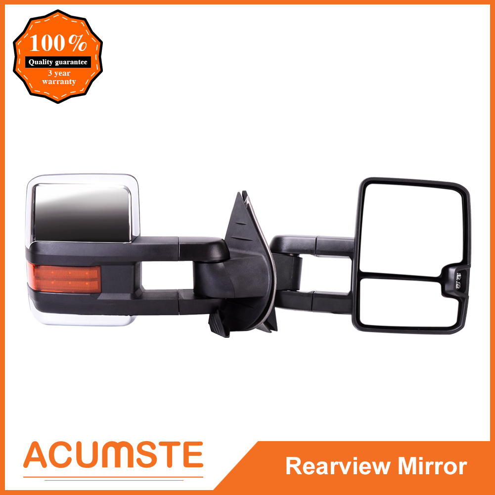 Brand New Mirror Power Heated Signal Towing Driver Left LH For Ford F150
