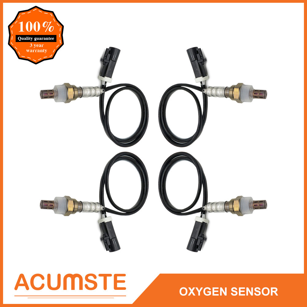 4Pcs Upstream Oxygen Sensor 234-4001 Front for Ford Pickup Truck Lincoln Mercury