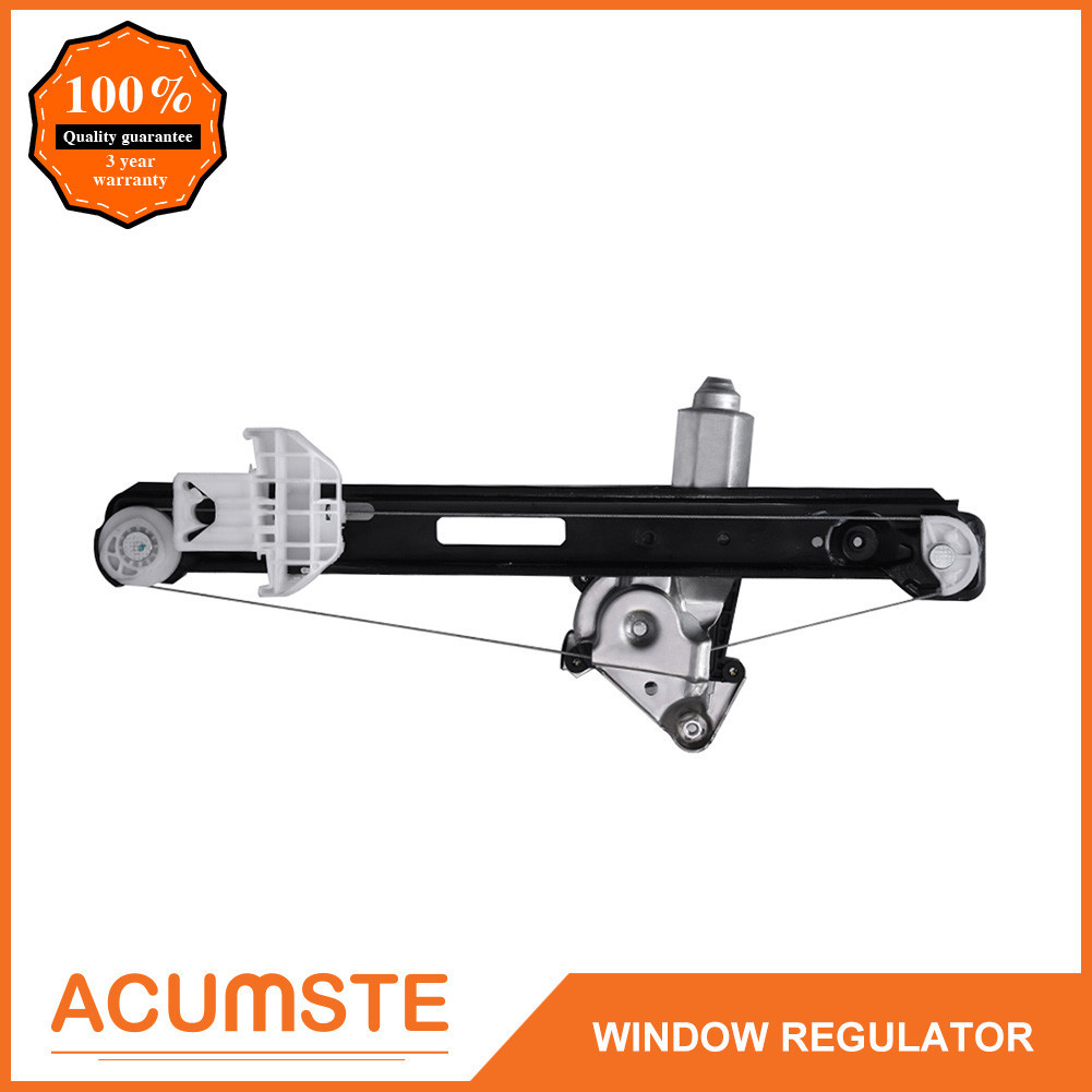 New Rear Left Driver Side Power Window Regulator With Motor For 00-07 Ford  Focus