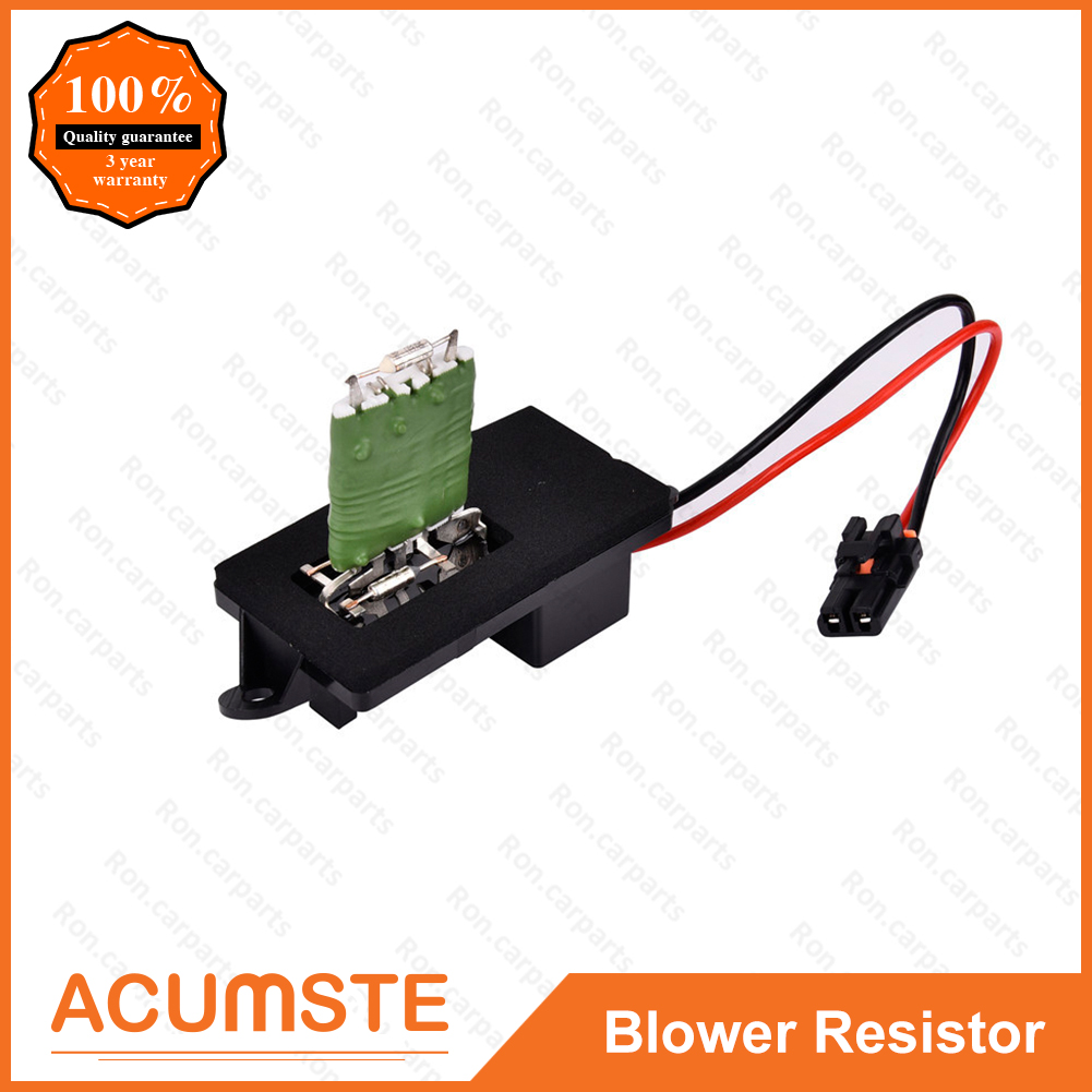 AC Blower Motor Resistor w/ Wiring Harness For Chevy Avalanche Tahoe  89019089