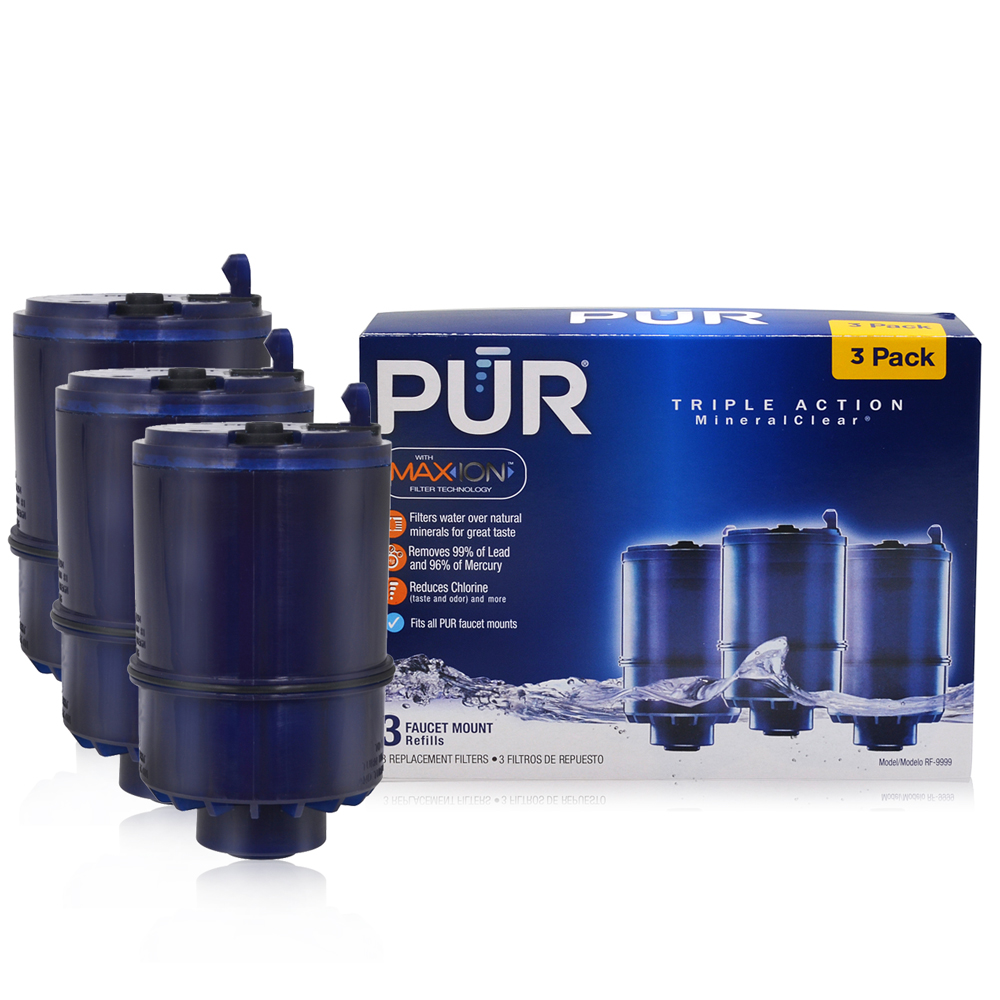 3PACKOEM PUR MineralClear Faucet Refill Replacement Water Filter ...