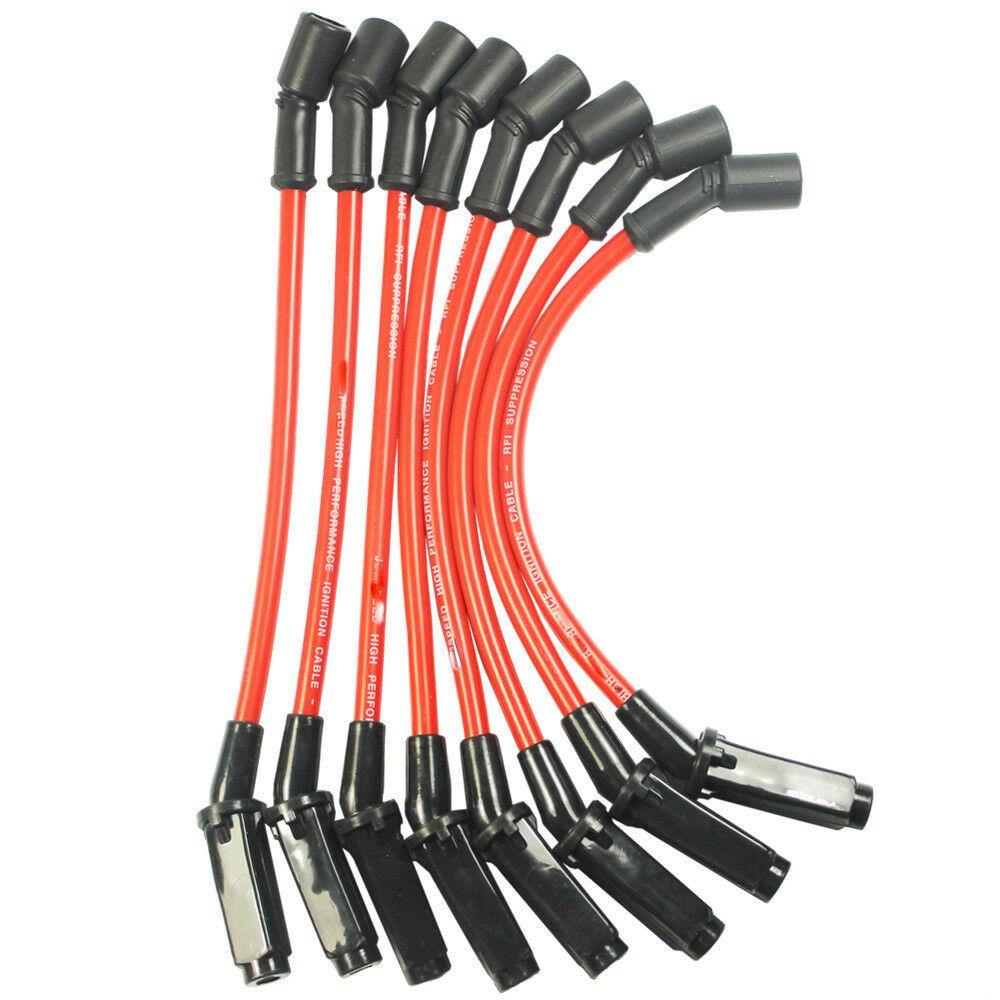 PERFORMANCE Spark Plug Wires For CHEVY//GMC 1999-2006 LS1 VORTEC 4.8L 5.3L 6.0L