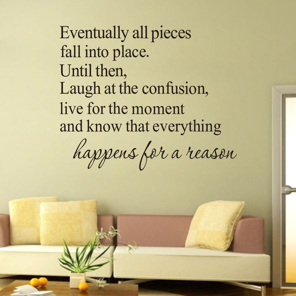 Words Quote Family Wall Sticker Bedroom Goodnight Vinyl Wall Decal ...