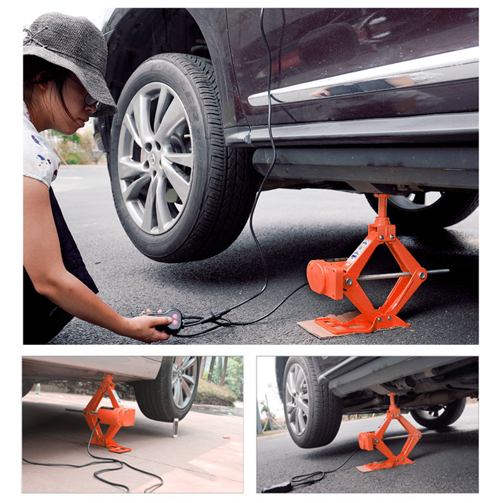 12v 3ton Car Electric Tire Lifting Car Jacks Hydraulic Air