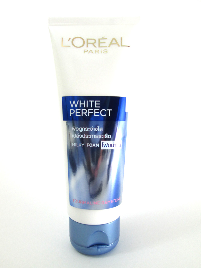 Natural Skin Lightening Facial Wash Women Whitening Milky Face Cleanser 100ml.