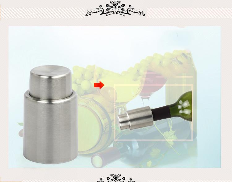 Rocita Wine Bottle Opener Air Pressure Pumps Cork Corkscrew Wine Bottle Open Vacuum Cork Out Remover Tool