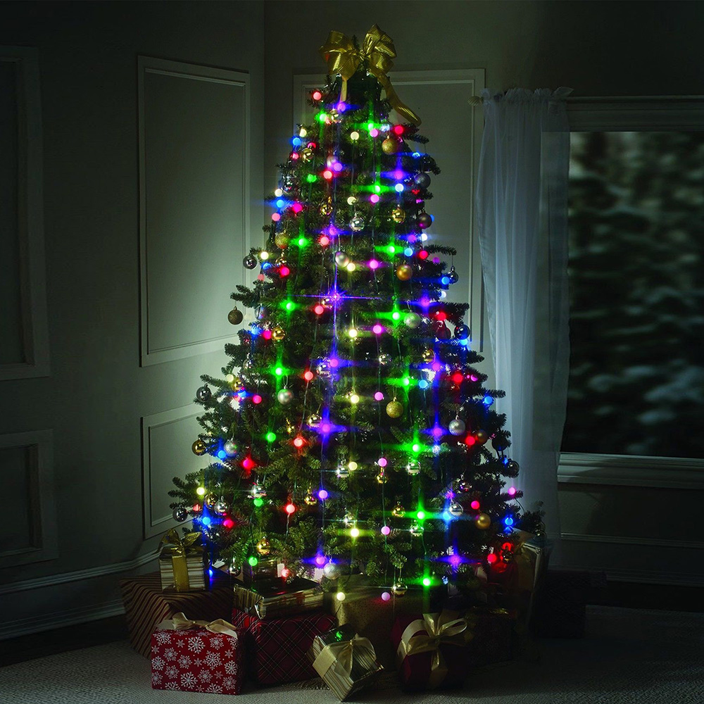 64led tree dazzling christmas tree hanging led lights