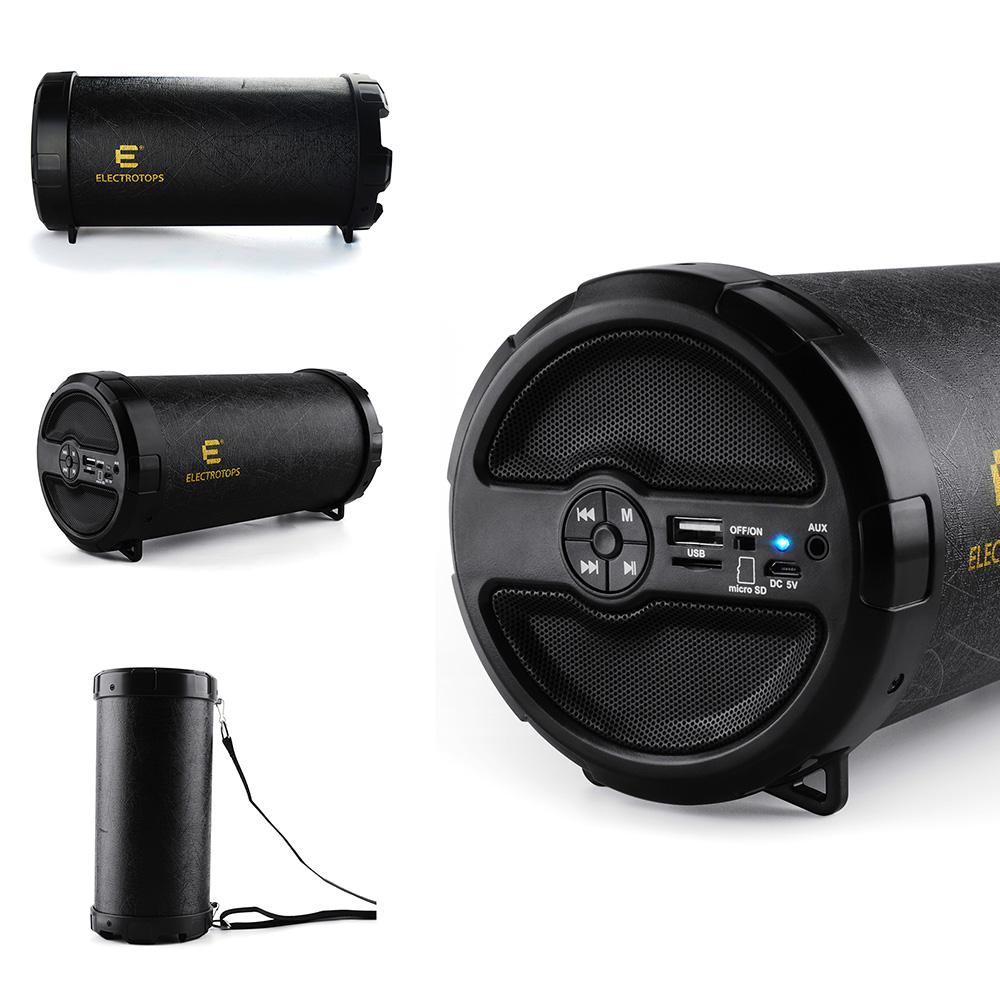 Bluetooth Speaker Bazooka Loud Hi Fi Super Bass Portable