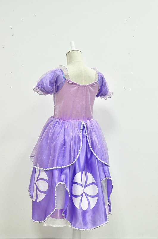 ChristmasPrincess Sofia Dress The First Childs Fancy Dresses Costume Party Dress