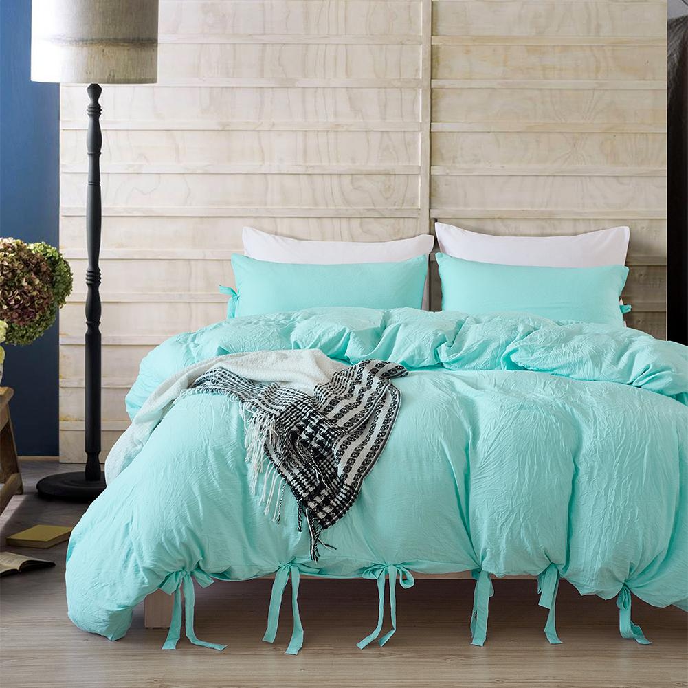 Luxury Duvet Cover Microfiber Washable Cotton Quilt Cover