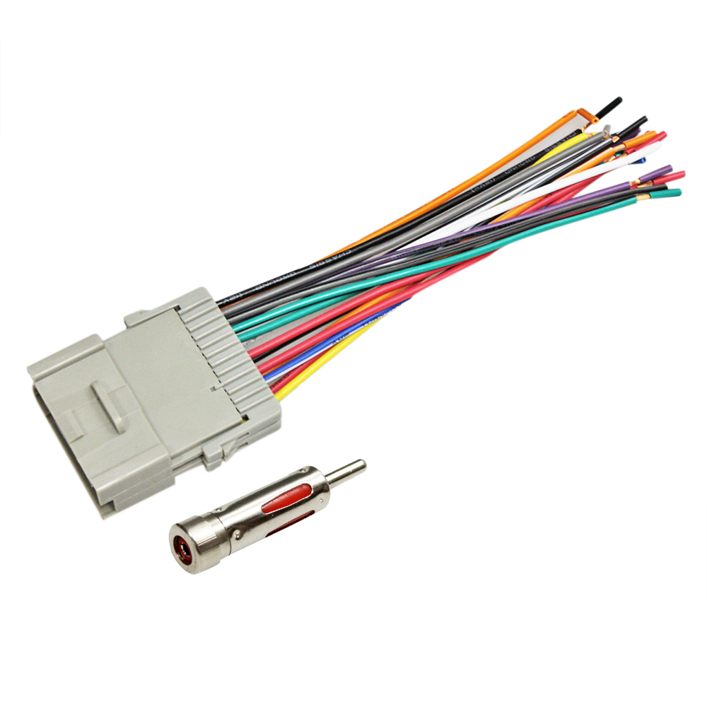 Car Stereo Radio Wiring Harness Antenna For 2000