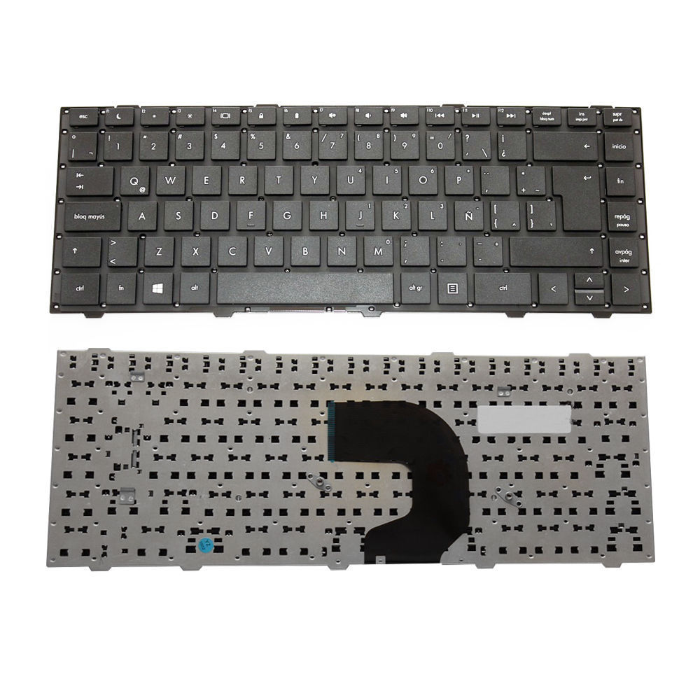 For HP Probook 4440s 4441S 4445s 4446s Keyboard Latin Spanish Teclado No Frame