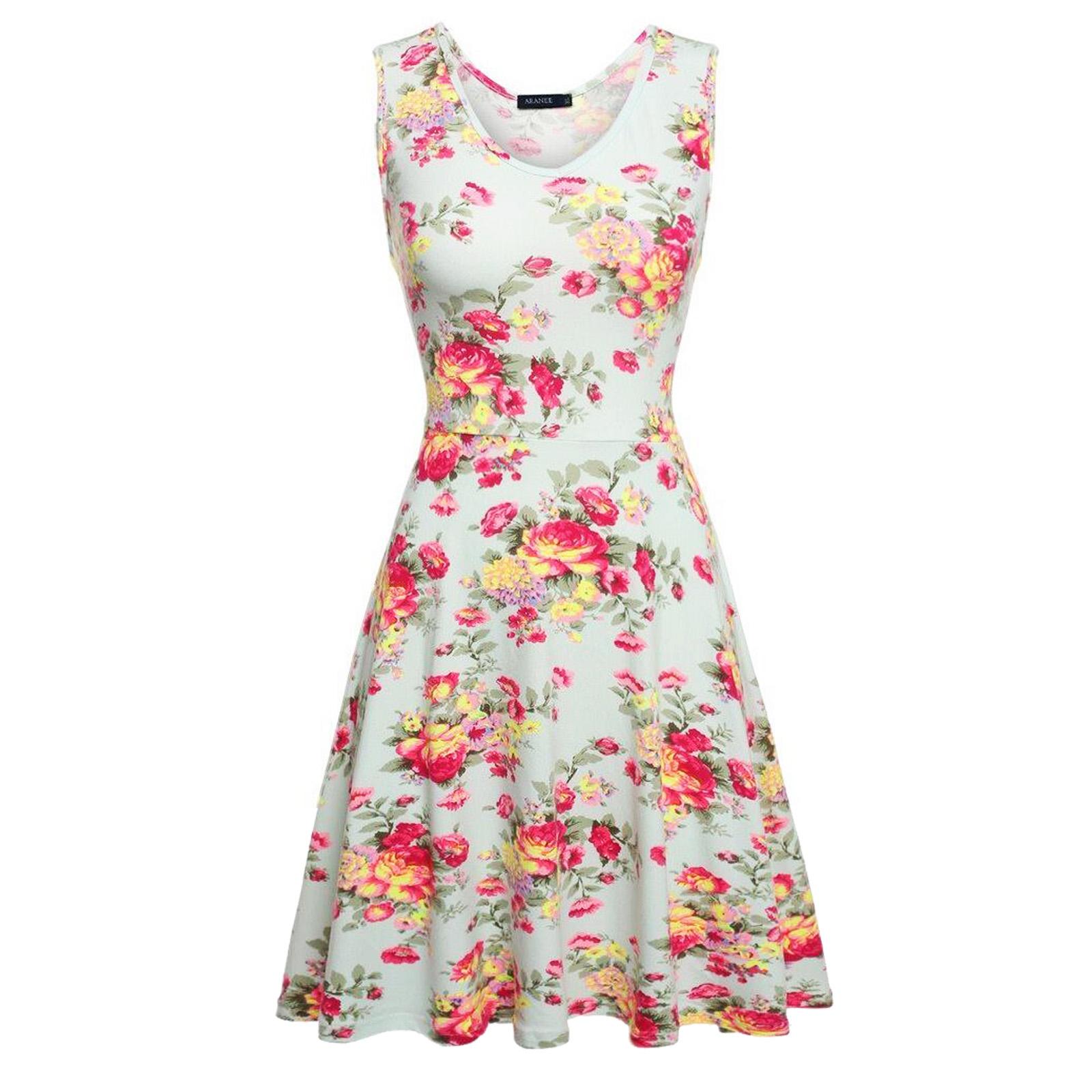 6413132128 Details about 50s 60s Swing Vintage Retro Hepburn Party Dress Women  Housewife Rockabilly Skirt