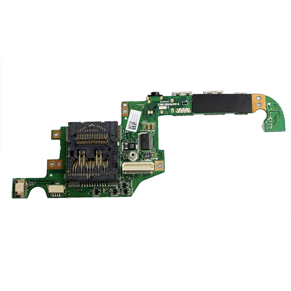 Dell XPS 1810 1820 Left-side DC Power Jack Audio IO USB Circuit Board 0MGYG9 JI1