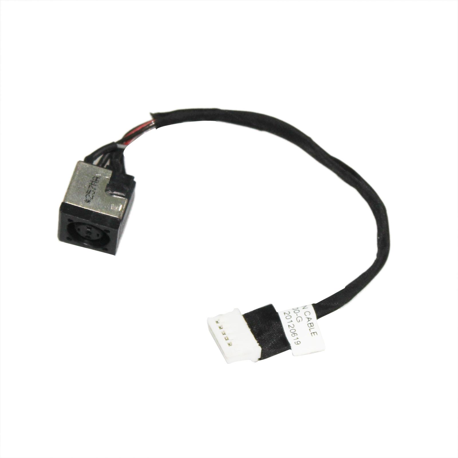 For HP Elitebook 8560W 8570W 8570P  DC Power Jack 350713N00-600-G 645279-001 New
