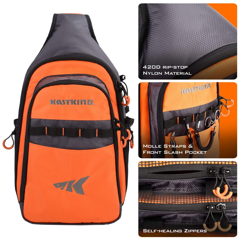 KastKing Sling Tackle Bag and Tackle box Storage Bag Holds 1 3600 Tackle Box