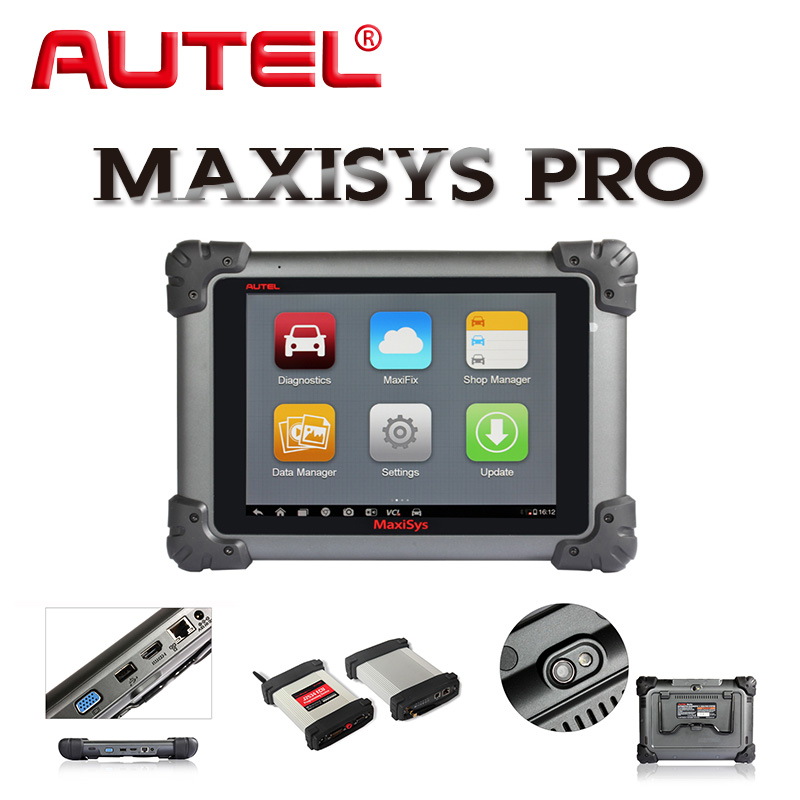 autel maxisys pro ms908p kfz diagnoseger t tablet wifi codieren f r ford bmw vw ebay. Black Bedroom Furniture Sets. Home Design Ideas