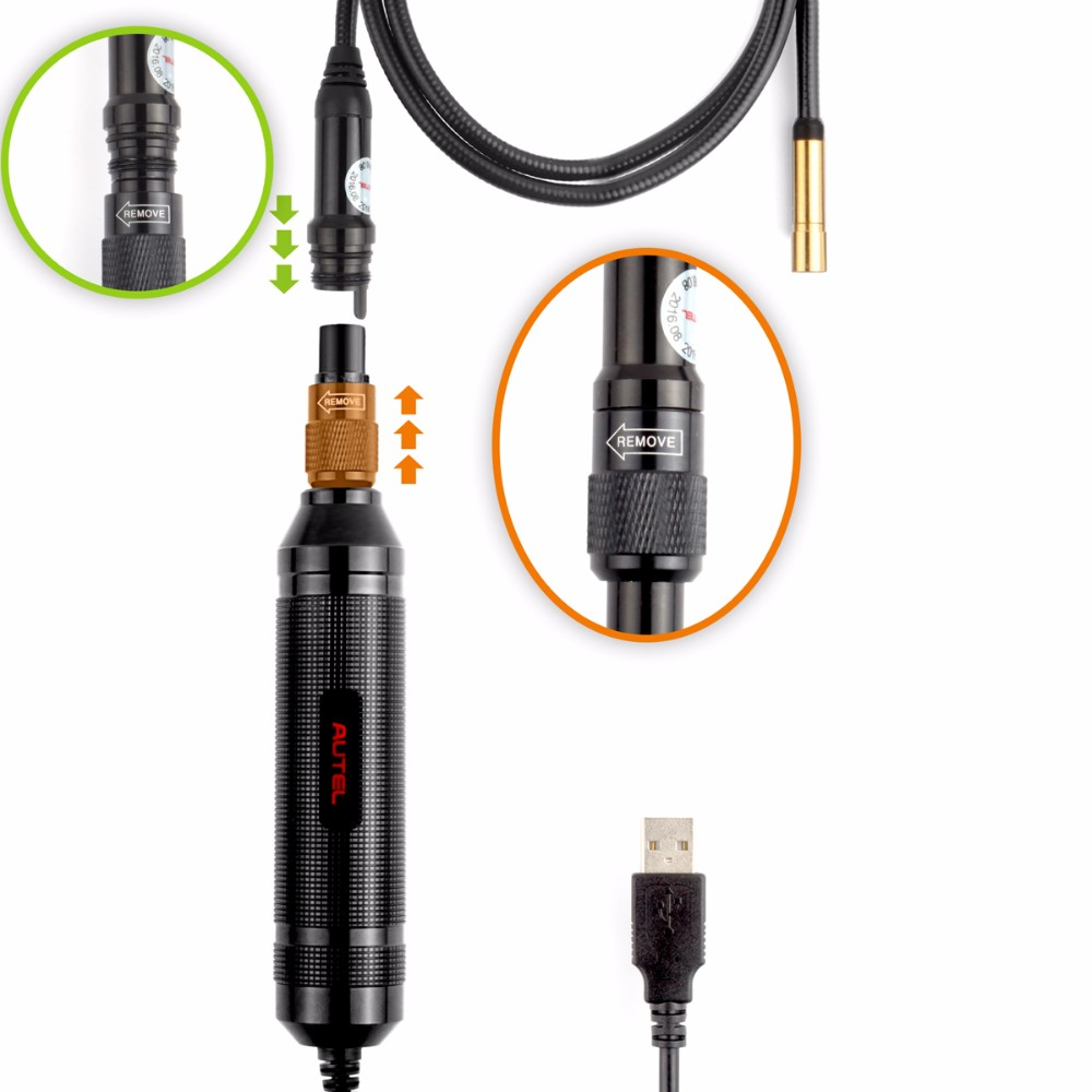 Autel MV108 Digitale Inspektionskamera Endoskop für Auto Diagnose ...