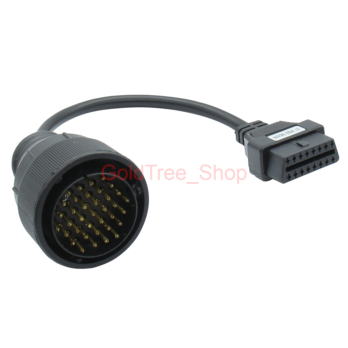 Truck Diagnostic Connector Cable 37pin