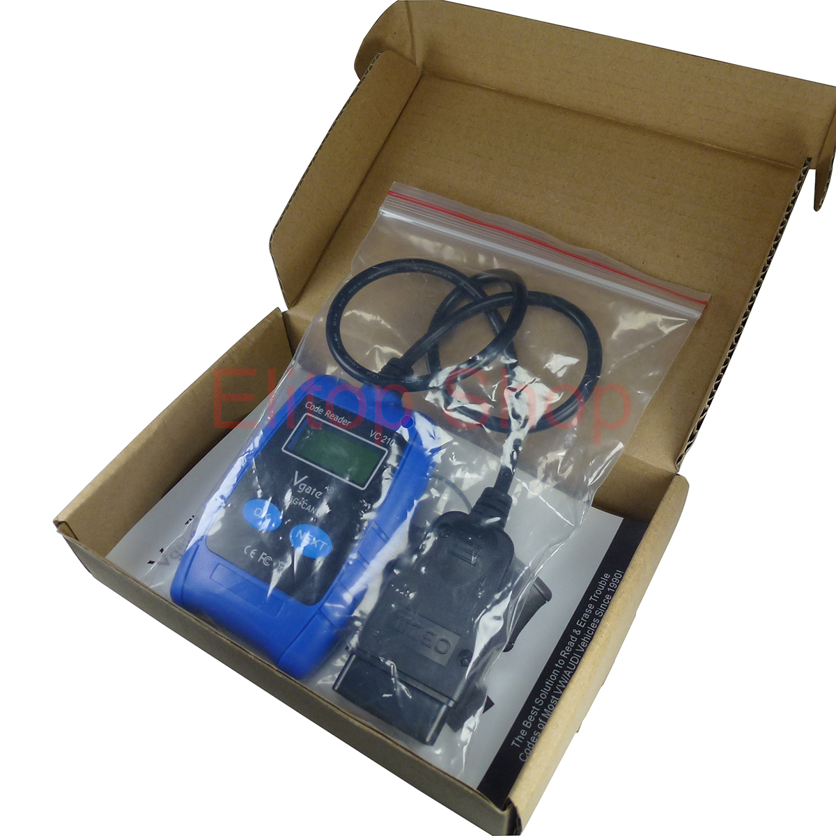 obdii obd i auto scanner code reader diagnostic scan tool for vw audi seat skoda. Black Bedroom Furniture Sets. Home Design Ideas