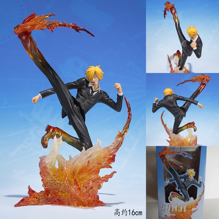 anime Sanji 16cm figure PVC figures doll dolls action anime collection