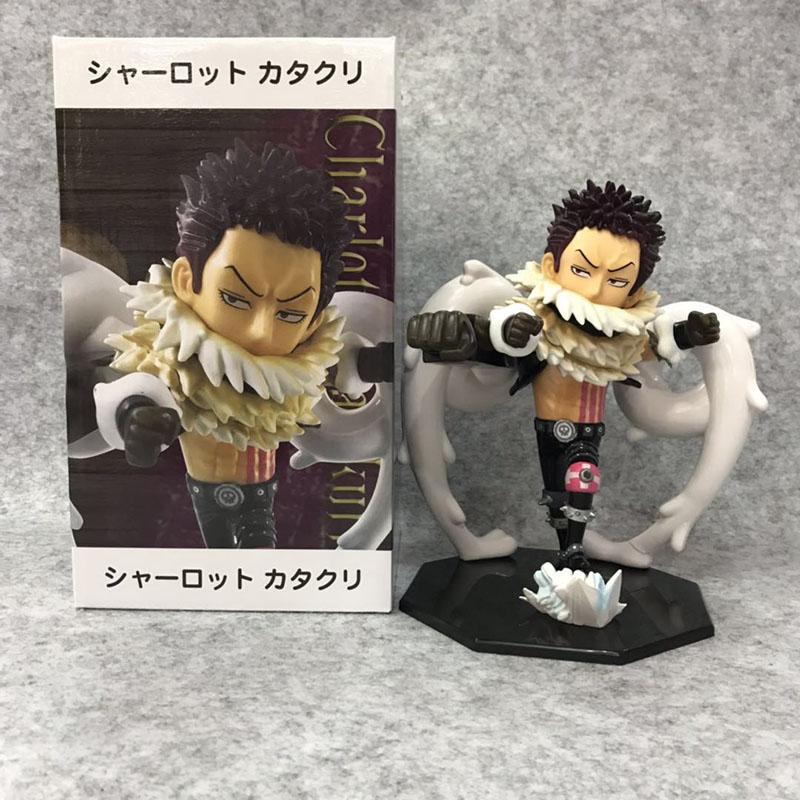 One Piece Charlotte Katakuri Cartoon Model Doll PVC Anime Action Figure Toy