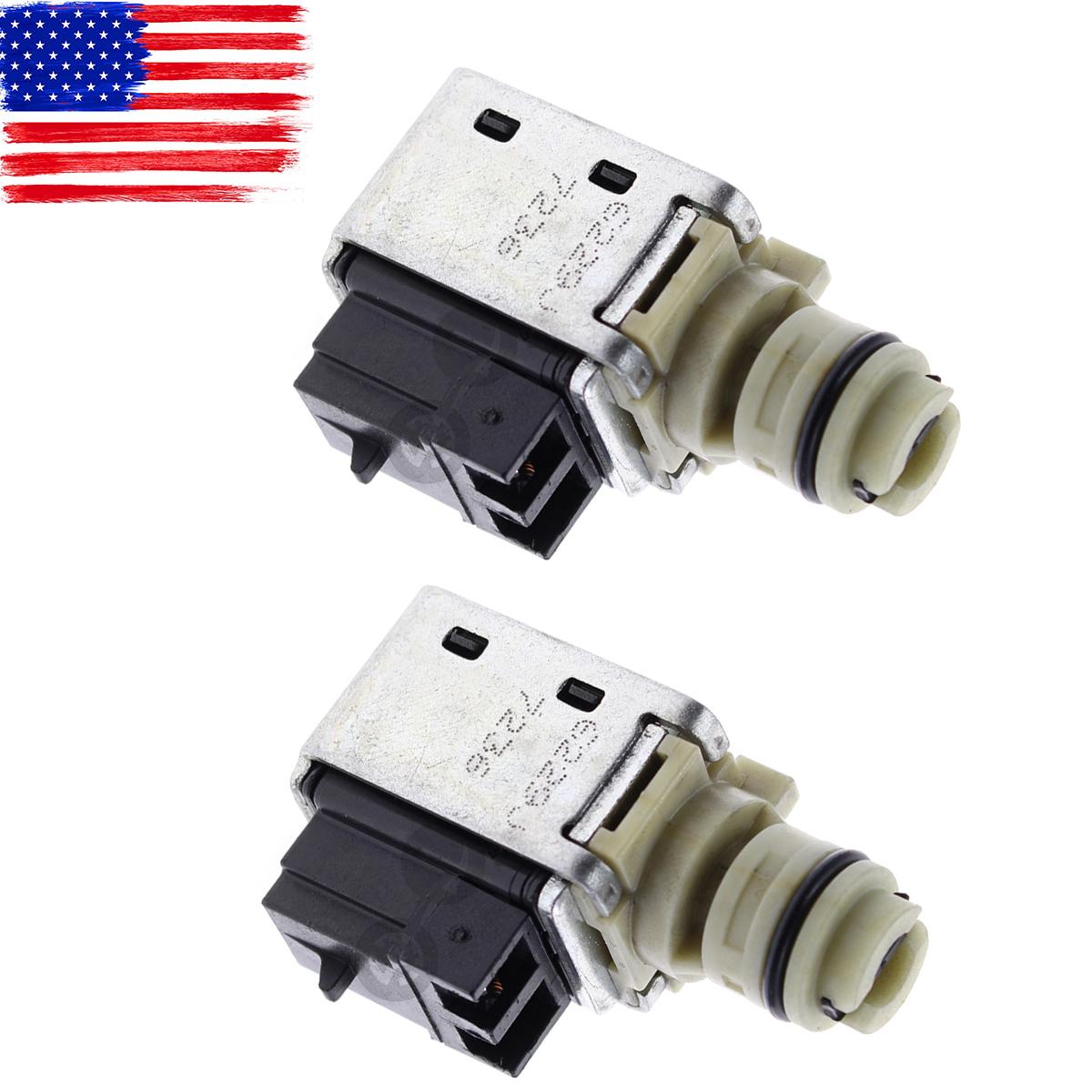 2 Oem 4t40e 4t45e Transmission Shift Solenoid For Saturn Vue Aura Repair Ion L300 Ls Lw