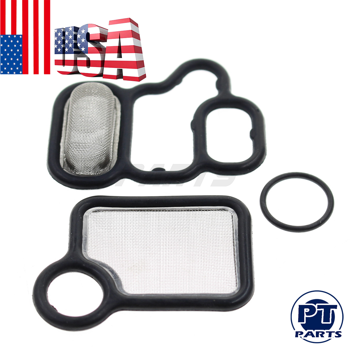 15815-RAA-A02 VTEC Solenoid Gasket Spool Valve Filter Screen For Honda CR-V Accord Civic Acura RSX RDX TSX 15845-RAA-A01 91319-PAA-A01