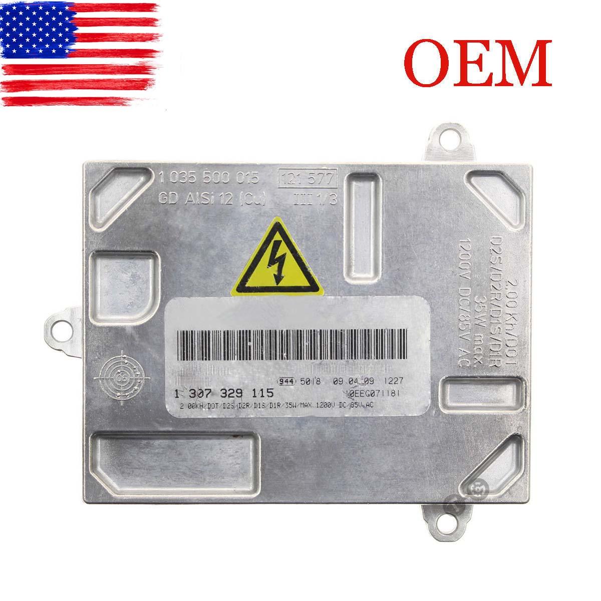 OEM AL HID Xenon Ballast Control Unit Module For 06-11 Cadillac DTS 1307329115