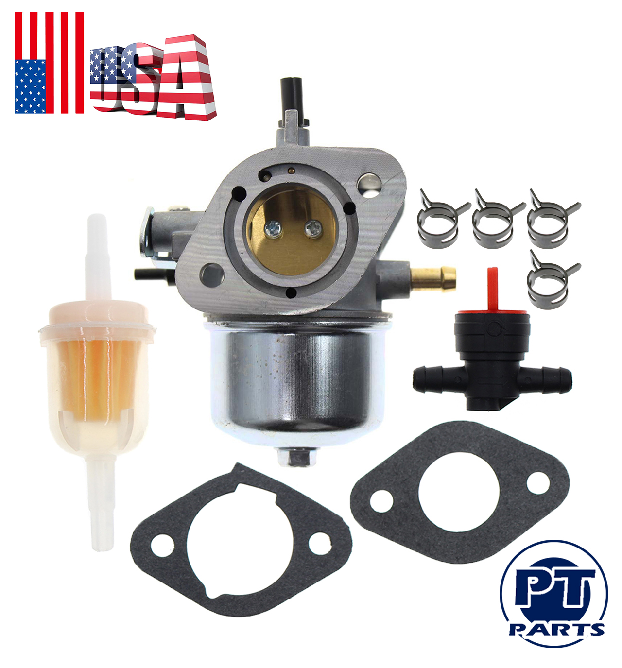 NEW CARBURETOR FOR FH430V FS481V KAWASAKI 14.5 HP RECOIL START ENGINE 15003-7061