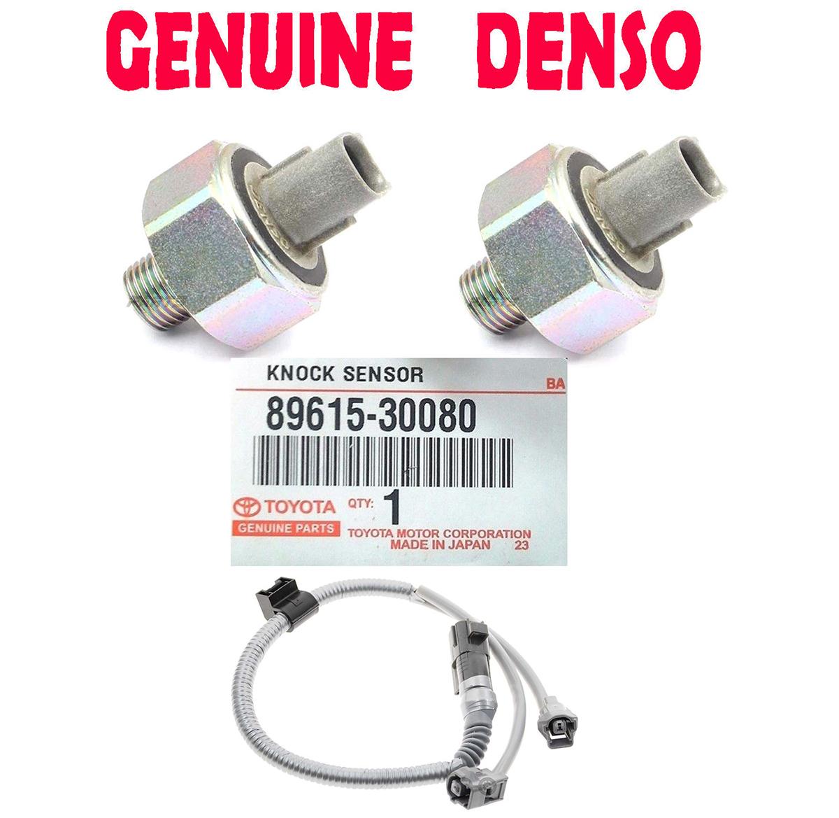 2xgenuine Oem Knock Sensor For Ls430 Sc430 Rav4 Lexus Gs43 Solara 89615
