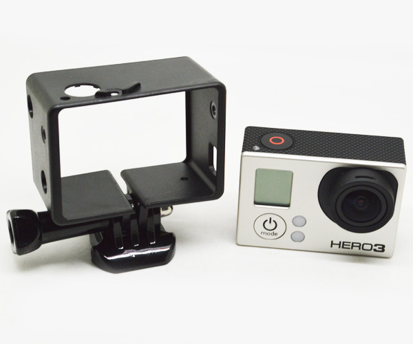 Tripod Border Bacpac Frame Mount Protective Housing Case for Gopro ...