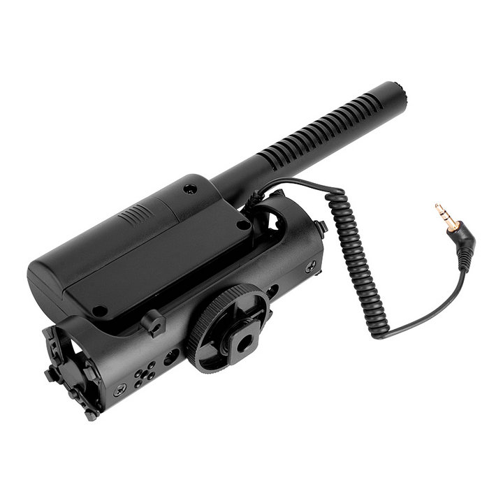 TAKSTAR SGC-598 Interview MIC Microphone for Nikon D700 D3100 D7000 D5100 D800